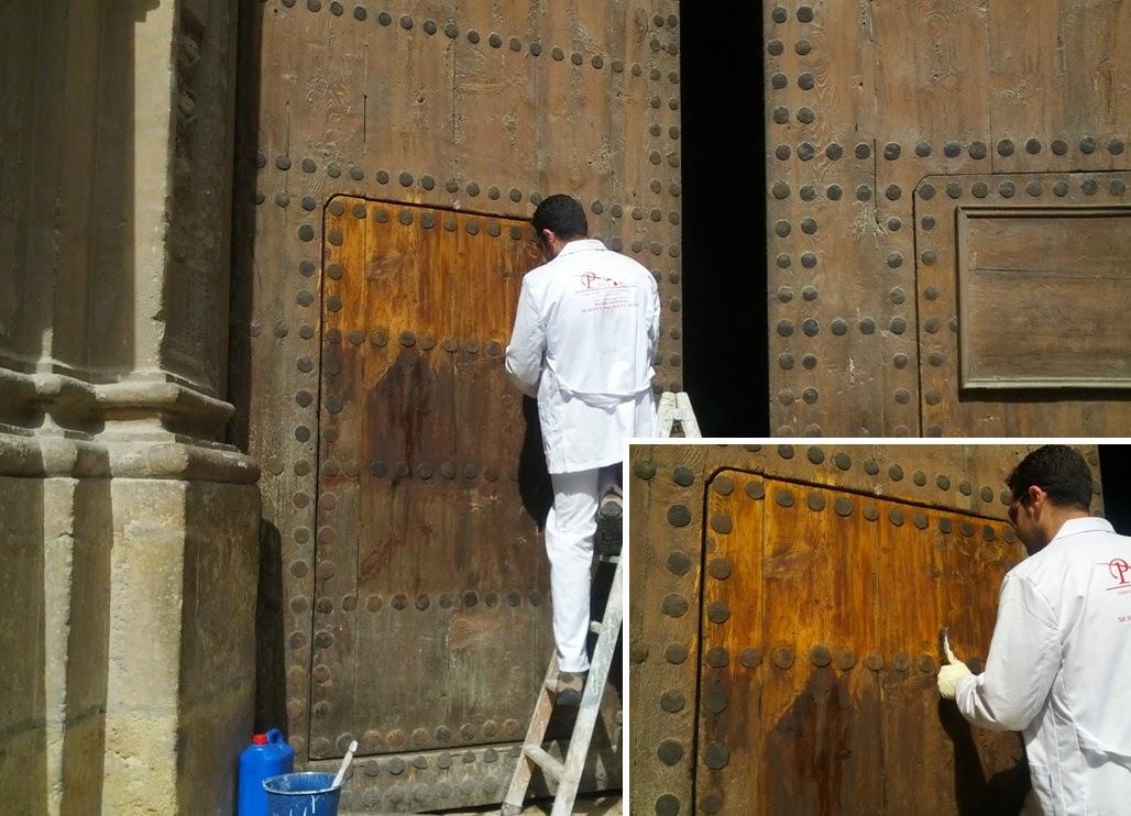 Pintores en granada p decor pintores en granada for Restauracion de puertas antiguas