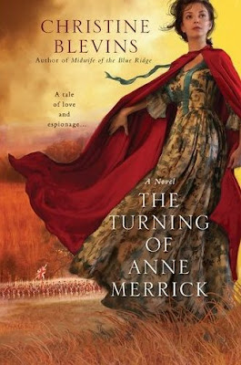 HFVBT Spotlight + Giveaway: The Turning Of Anne Merrick by Christine Blevins