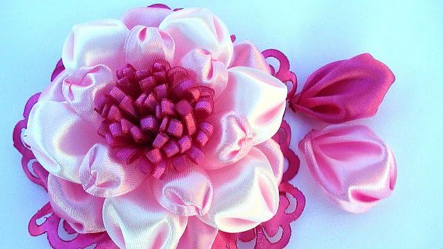 Лепесток канзаши для цветов