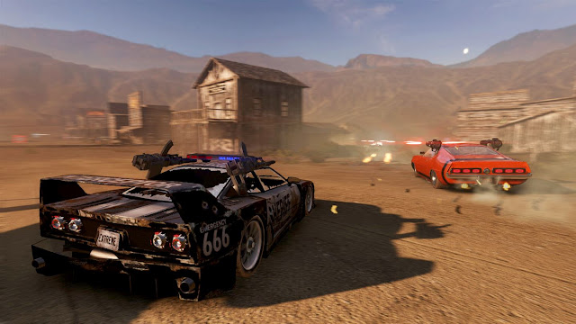 combat racing game Xbox One review