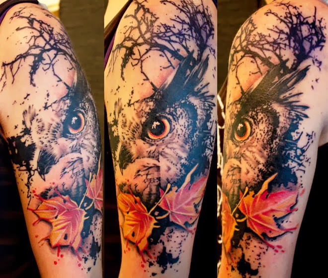 Free Amazing Styles: Nature Tattoo Idea Photos Images Pictures