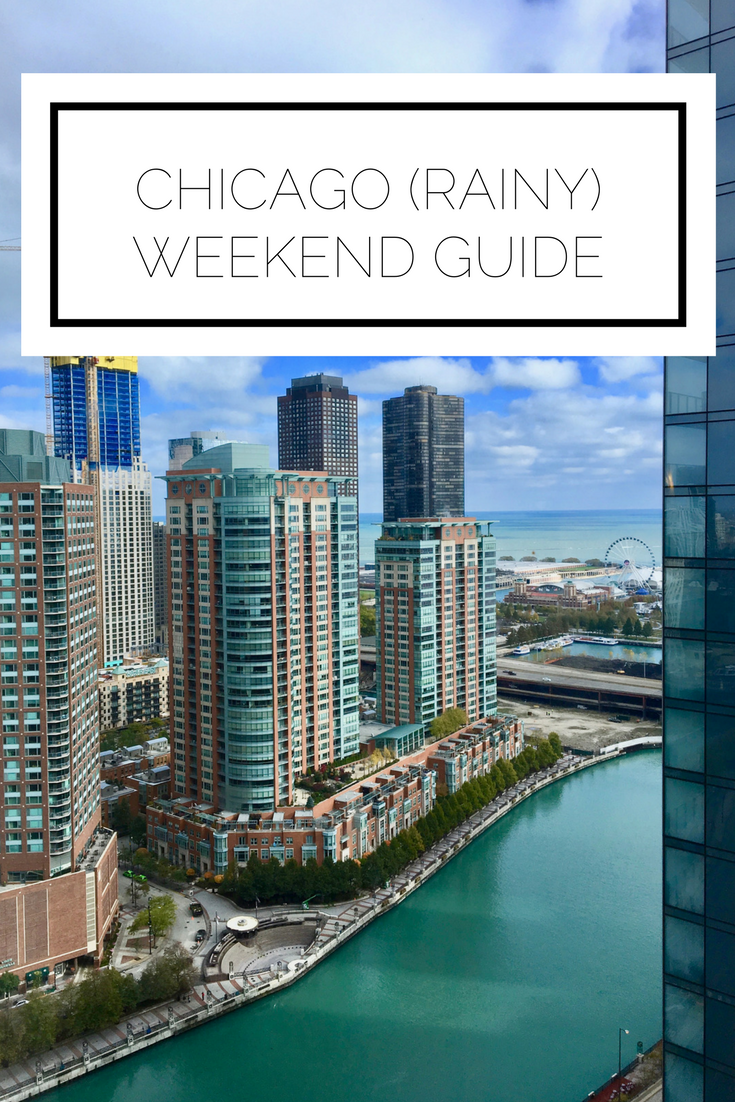 Click to read now or pin to save for later! Visiting Chicago for the weekend? Here is your guide to making the most of the windy city when it rains!
