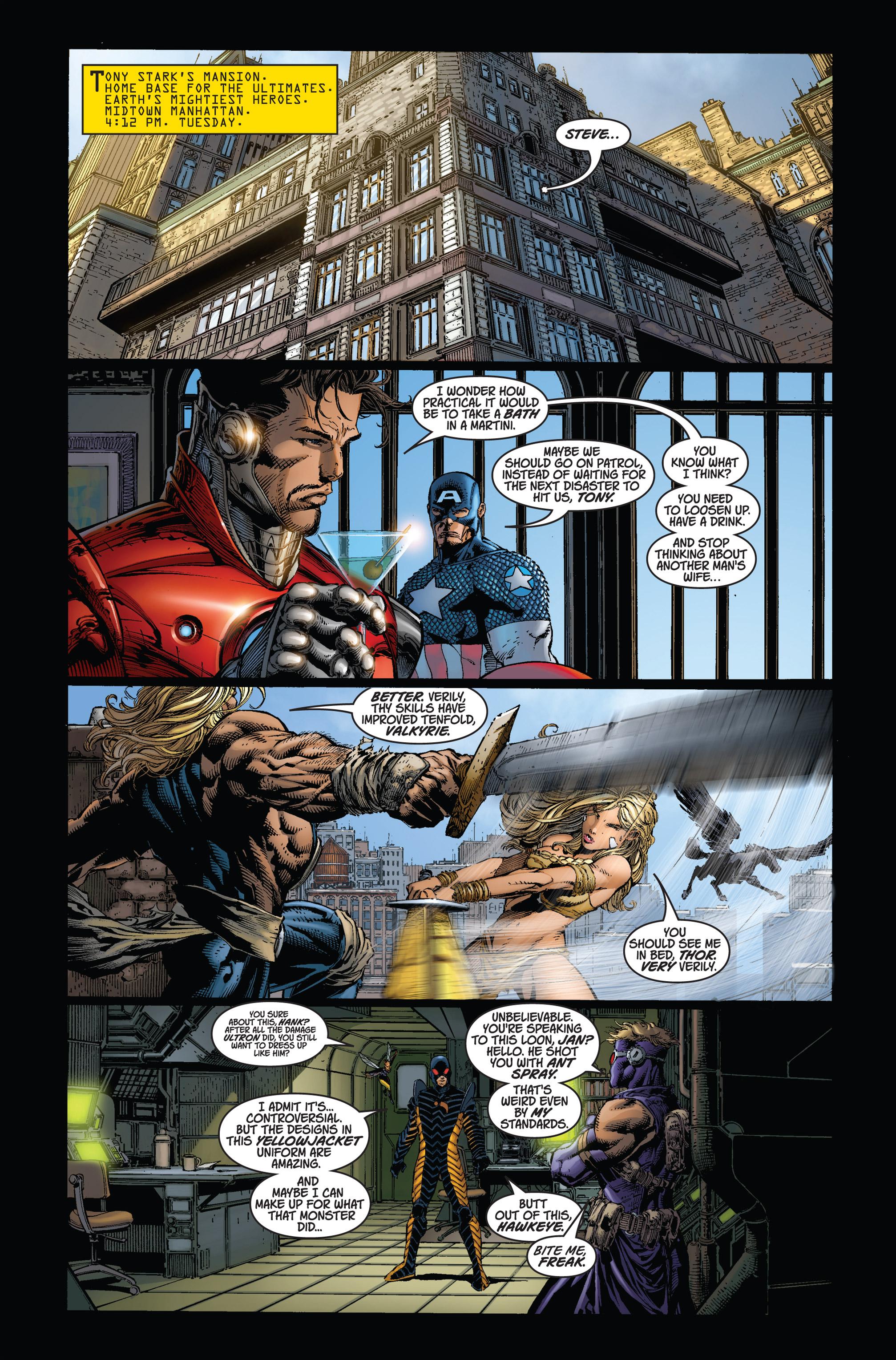 Read online Ultimatum comic -  Issue #1 - 4