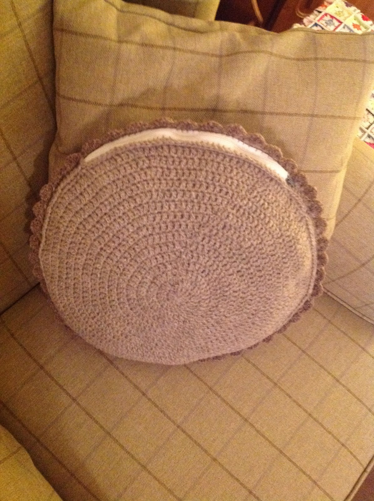 Marvelous Kandipandi Natural Crochet Cushion Gmtry Best Dining Table And Chair Ideas Images Gmtryco