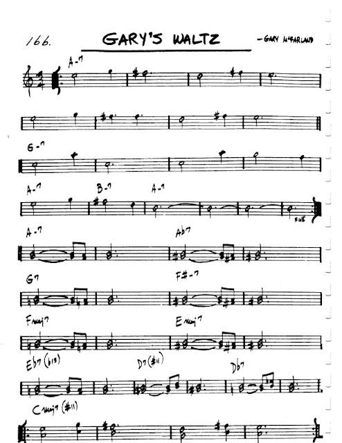 Partitura Flauta Gary McFarland