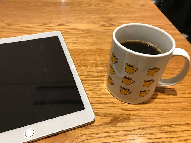 横井珈琲『本日のコーヒー』