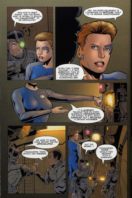 Star trek voyager comic sex