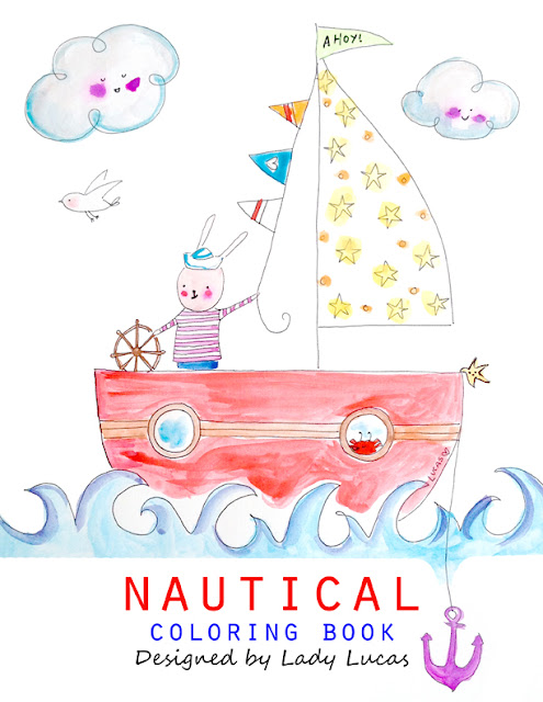 Nautical Inspiration via the Little Owl Lane Blog