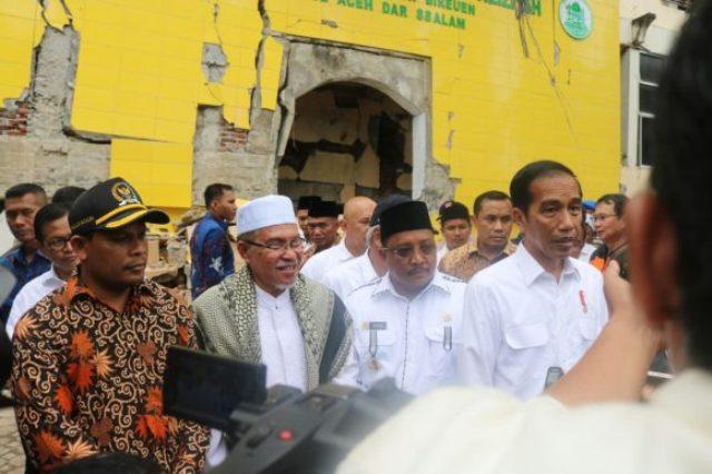 Presiden Janji Bangun Kembali Tiga Kabupaten Terdampak Bencana