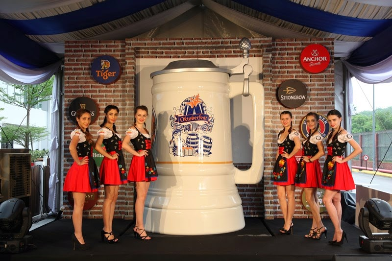 Guinness Anchor Berhad Kicks Off Octoberfest 2014 With Malaysia's Biggest Mug