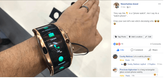 Nubia smartphone watch 3