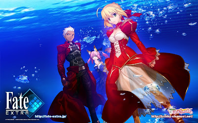Fate Extra PSP