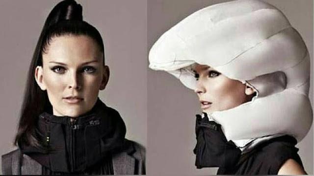 Helm Airbag untuk Pesepeda yang Malas Pakai Helm