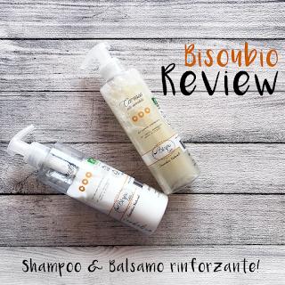 Review BisouBio Shampoo e Balsamo Bio Rinforzante Calendula verdebio