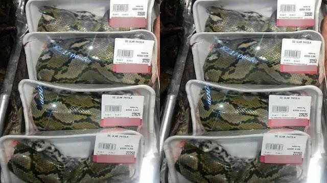 Heboh Daging Ular dan Tikus Dijual di Supermarket, Beneran Nggak Sih?