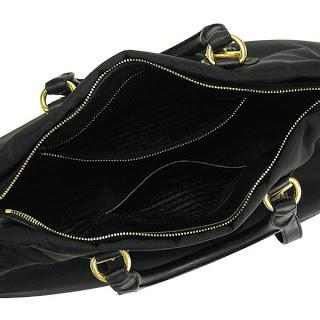 f8c51d6bdf11 I Want Bags backup: Prada BN1903 Top Handle Tote-Black