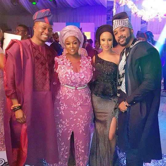 See this lovely photo of Toolz and Tunde with new couple Banky W and Adesua
