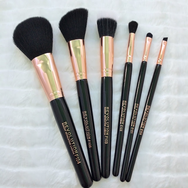 Review of Makeup Revolution Brushes