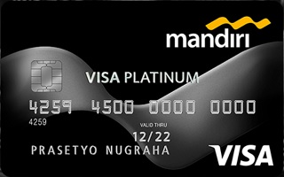 Kartu Kredit Mandiri Visa Platinum