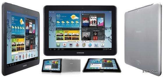 2Toer: Samsung Galaxy Tab 2 10 1 GT P5100 Factory Reset, Insert SIM
