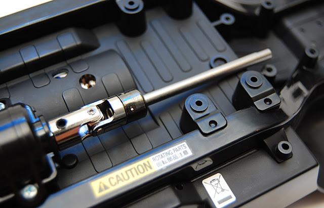 Tamiya Jeep Wrangler metal driveshaft