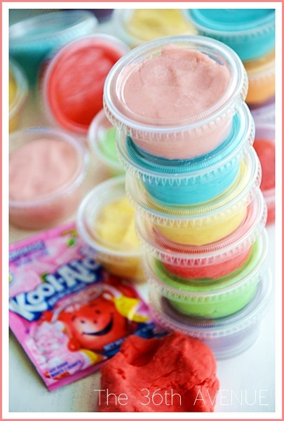 A collection of the best play dough recipes for kids