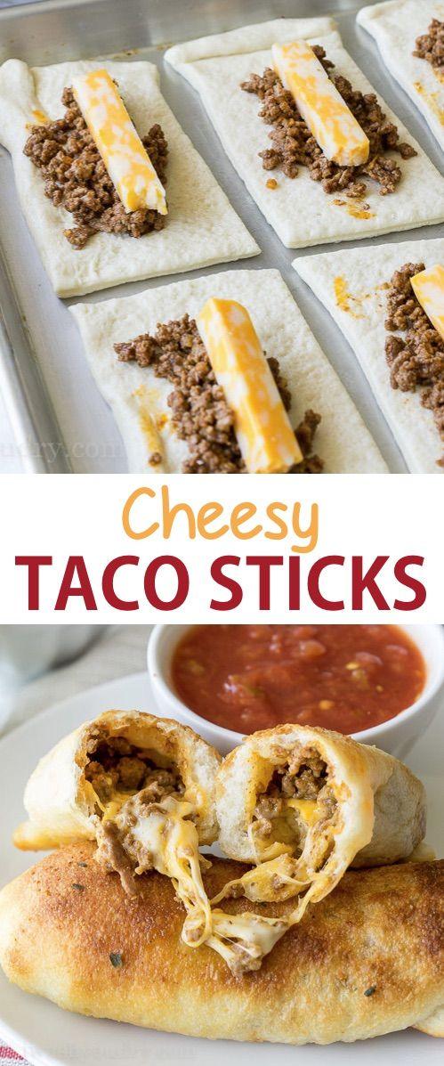 Easy Cheesy Taco Sticks