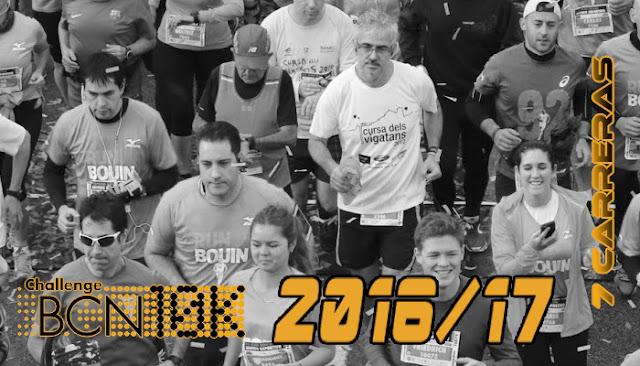 ChallengeBCN10k 2016/17 - 7 carreras