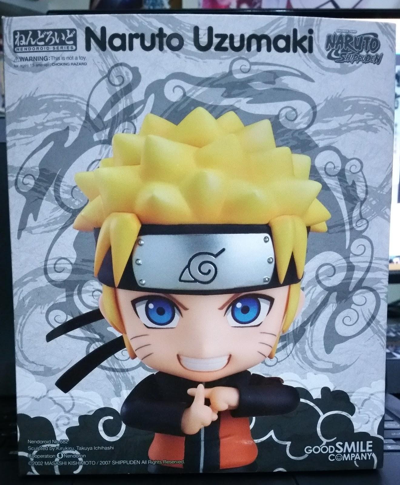 Nendoroid Naruto Uzumaki: Figure Unboxing And Review: Nendoroid Uzumaki Naruto