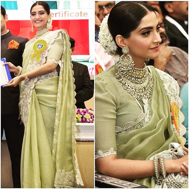 Sonam Kapoor at the National Film Awards Ceremony
