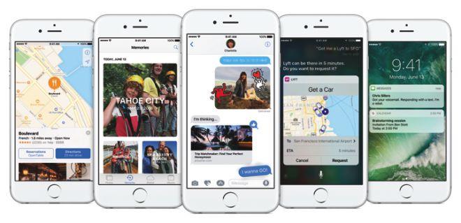 Nuova interfaccia utente iOS 10 HTNovo