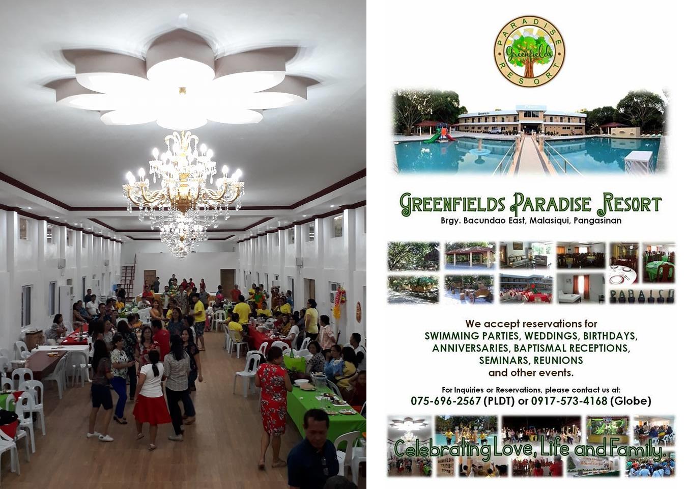 greenfields paradise resort  in pangasinan