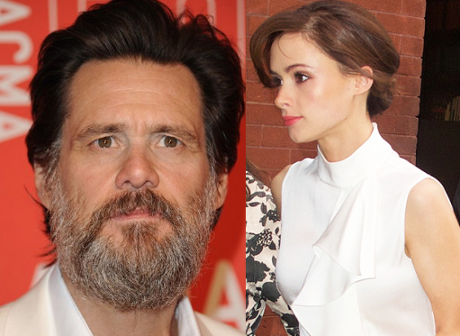 jim carrey gave girlfriend stds