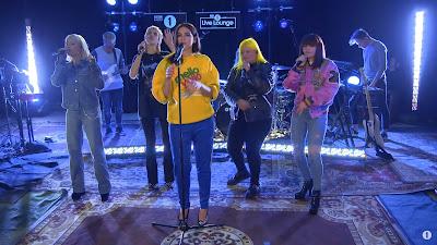 Dua Lipa - IDGAF ft. Charli XCX , Zara Larssonv, MØ , Alma ( in the #LiveLounge #BBCR1 )