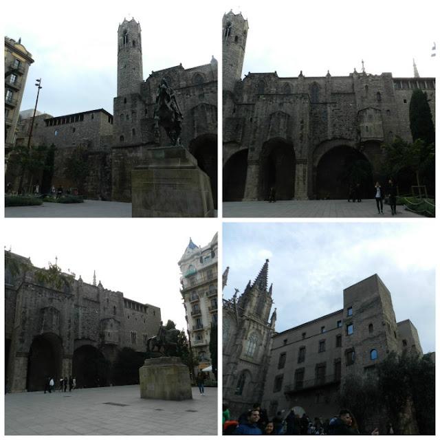 Praças para curtir Barcelona - Plaça de Ramon Berenguer El Gran