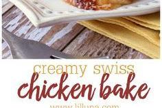 Creamy Swiss Chicken Bake Recipe