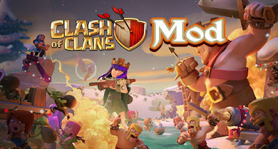 Download Clash Of Clan Mod Apk Th 12 Unlimited Gems Mna Gamer