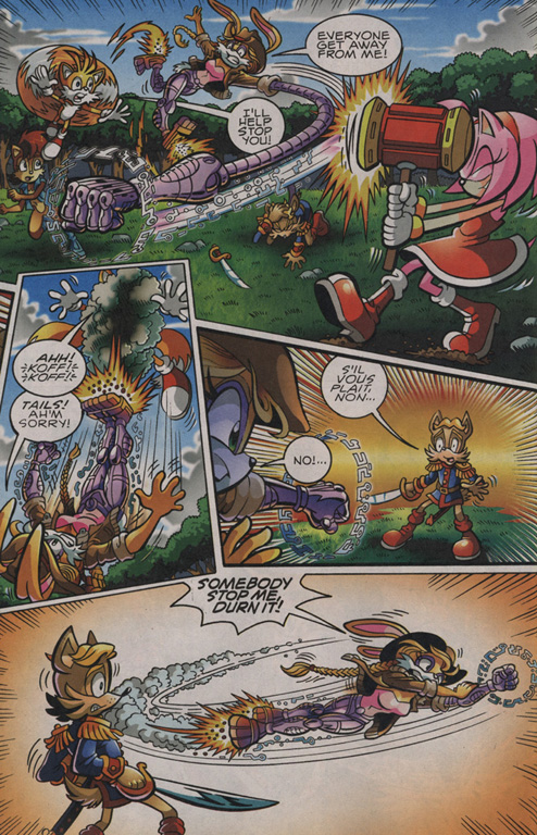 Read online Sonic The Hedgehog comic -  Issue #203 - 11