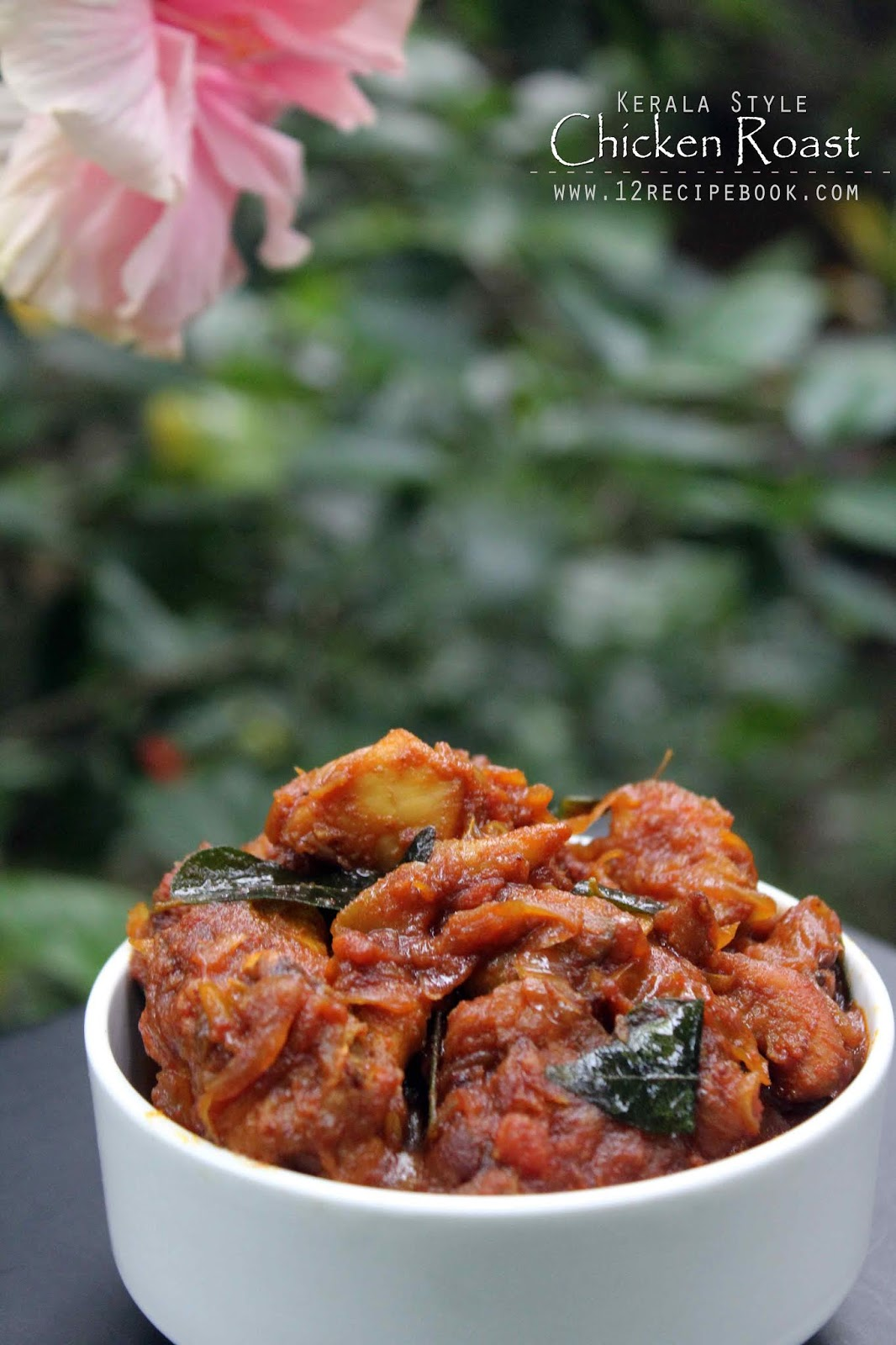 Kerala Style Spicy Chicken Roast - Recipe Book