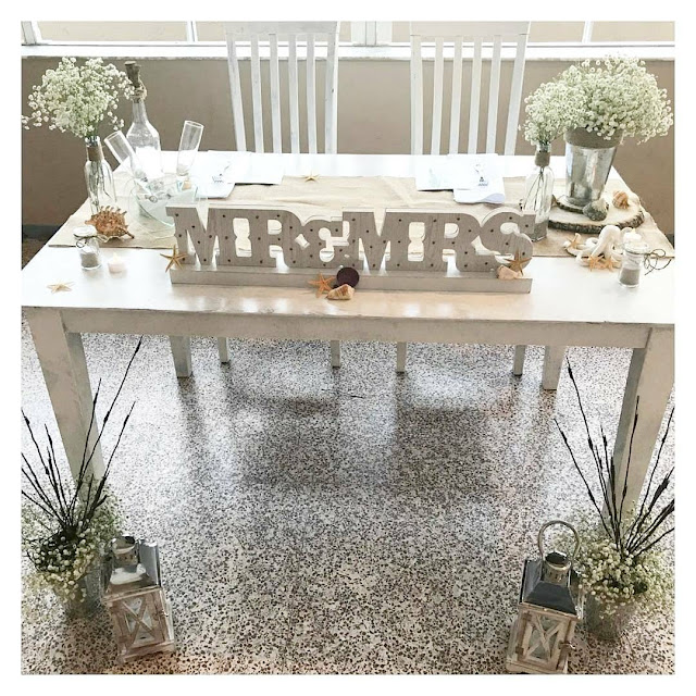 Rustic Sweetheart table ideas, Head Table Idea for your Wedding