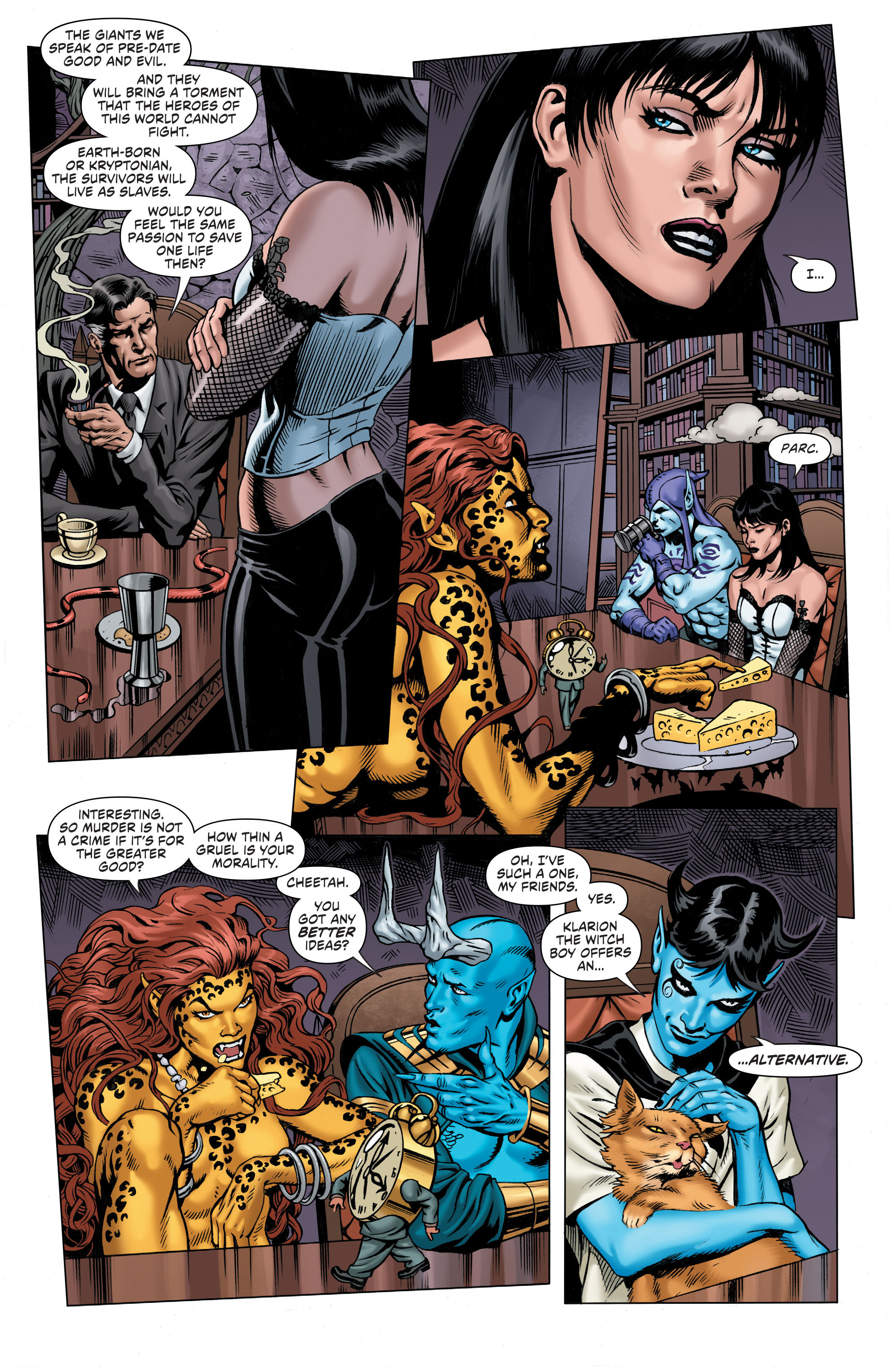 Read online Secret Six (2015) comic -  Issue #7 - 13