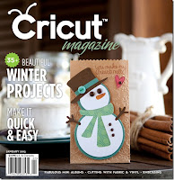 My first Cricut magazine publication