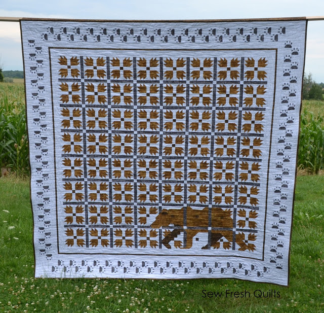 Sew Fresh Quilts: MOD Bear Paw QAL : bear claw quilt pattern - Adamdwight.com