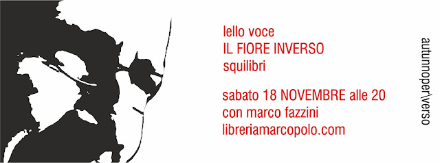 Lello Voce alla MarcoPolo - sabato 18 novembre