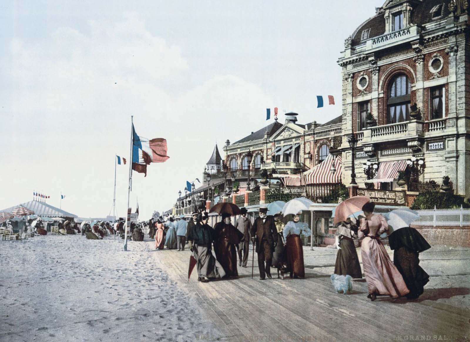 Promenade and Grand Salon, Trouville.