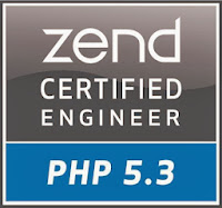 My Zend Certified Engineer Directory Page