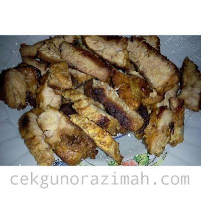 resepi, daging bakar, daging bakar sedap, daging bakar mudah