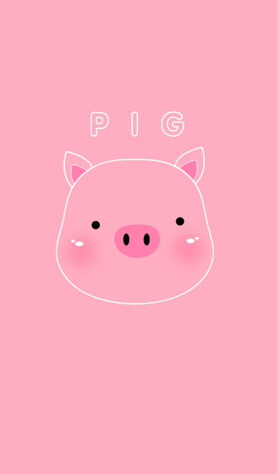 Pink Pig theme