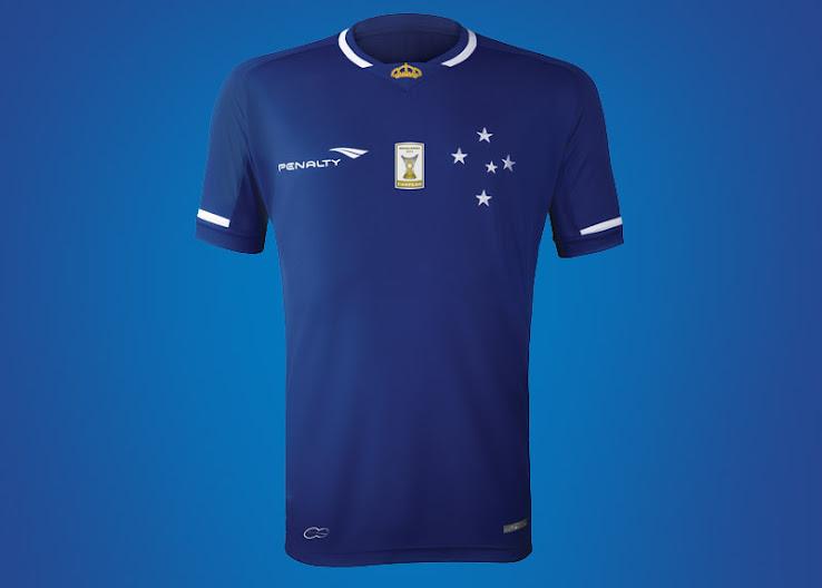 Cruzeiro 2016-17 Home Jersey