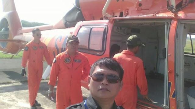 Buat Haru, Wartawan Ini Beri Salam Perpisahan serta Kesan Kru Helikopter